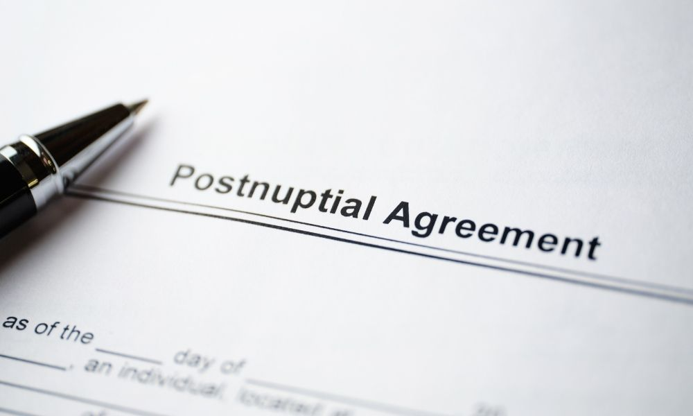 What To Add To a Postnuptial Agreement